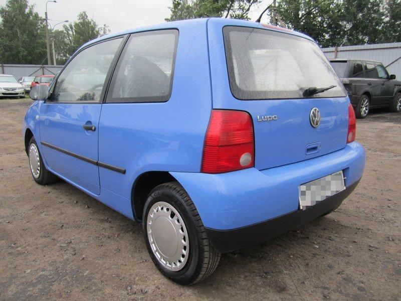 Фольксваген Лупо 1,0л. МКПП 2001 года выпуска