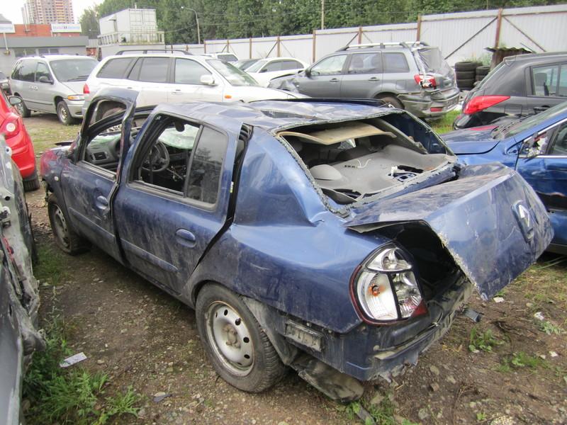Рено Cимвол 1,4 л МКПП 2006 года выпуска